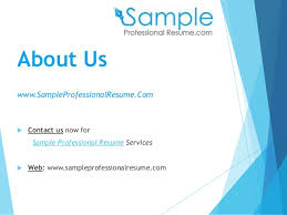 Resume Com Samples by Professional Resume Samples