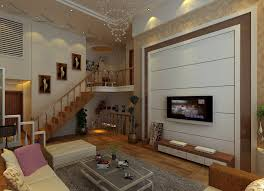 Villa Stairs Design Living Room Design With Stairs Free Tv Built In Under Staircase