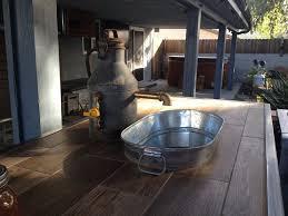 galvanized tub kitchen sink outdoor kitchen custom made faucet with galvanized tub sink yelp
