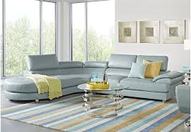 Coffee Table Rooms To Go Sofia Vergara Cassinella Hydra 6 Pc Sectional Living Room Living