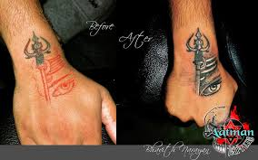 shiva custom concept aatman tattoos in bangalore india