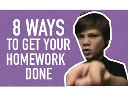 Ways to Get Your Homework Done   Tips and Tricks   YouTube YouTube