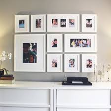 living room displays wall picture display ideas best 25 photo displays ideas on