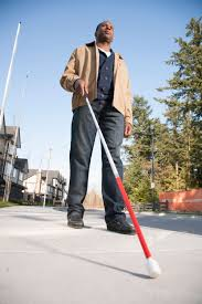 Blind Man Cane Assistive Technology Offerings The Blind Guide
