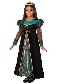 Black Halloween Costumes Girls Girls Black Camelot Princess Costume