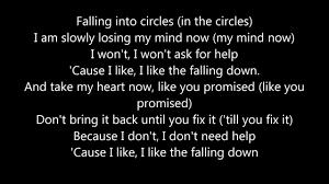 arty falling down lyrics youtube