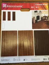floor and decor plano walnut is our color interceramic colonial wood tile sle board