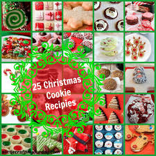 25 christmas cookie recipes a little craft in your day