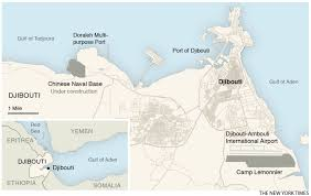 Djibouti Map Us Wary Of A Chinese Base Rising As Its Neighbour In Africa