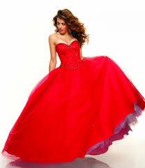 rochii de bal rochie rosie stil bal
