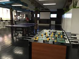 can u0027t have a startup office without foosball and table tennis