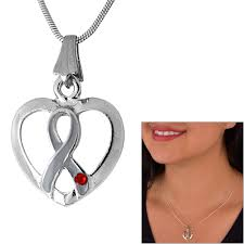 diabetes ribbon promo diabetes ribbon heart necklace the diabetes site