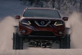 Nissan Rogue Warrior - watch this nissan rogue warrior prototype play in the snow