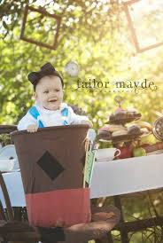 alice in wonderland baby mad hatter photo shoot session
