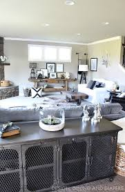 Rustic Modern Family Room Reveal Modern Family Rooms Rustic - Modern family rooms