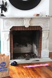 cleaning fireplace brick binhminh decoration