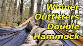 Winner Outfitters Double Camping Hammock by Unboxing And Review Winner Outfitters Hammock W Tree Slings