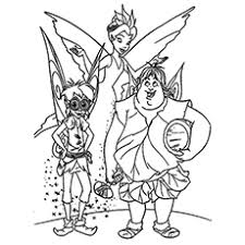 top 25 free printable tinkerbell coloring pages online