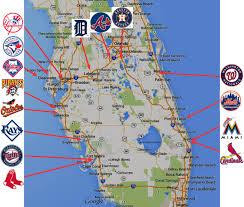 Arrowhead Stadium Map Map Of Spring Training Florida New Cactus League Roundtripticket Me