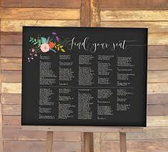 wedding seating signs table chart wedding carbon materialwitness co