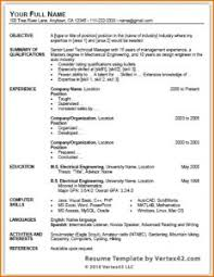 Free Template Resume Microsoft Word Resume Template Exle Free Printable Builder Pertaining To