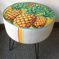 Made Ottoman by Ministry Of Handmade Custom Made Lampshades And Ottomans
