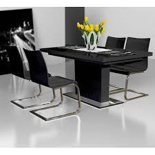 White Gloss Extendable Dining Table Evita