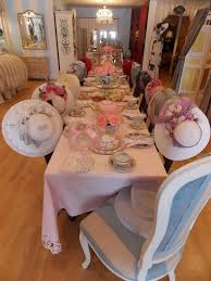 little tea table set tea party table set with fun hats сервировка туаль