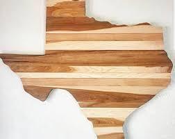 Rustic Texas Home Decor Reclaimed Wood Texas Sign Texas Wall Art Texas Decor