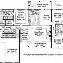 Country Style Open Floor Plans 35 4 Bedroom House Plans Kerala Style Bedroom Ranch House Plans 4