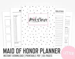 of honor planner of honor planner letter size wedding gift binder best