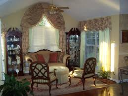 interior full sure fit cream arched window shades with window