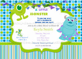 monsters inc baby shower ideas inc baby shower invitation water bottle labels by
