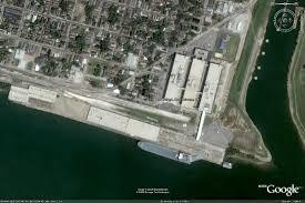 New Orleans Terminal Map by New Orleans Poland Avene Wharf Terminal