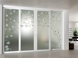 decorative glass interior doors decorative glass sliding doors things when installing glass