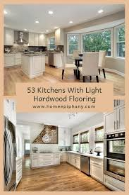light wood kitchen cabinets with wood floors 53 charming kitchens with light wood floors light hardwood