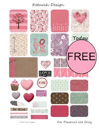 printable stickers valentines free valentine s day printable planner stickers