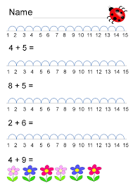 maths worksheets for reception this free kindergarten math