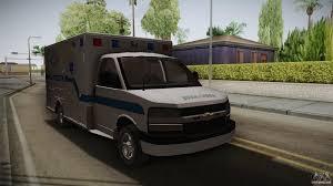 chevrolet express chevrolet express 2011 ambulance for gta san andreas