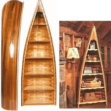 Canoe Bookcase 17 Simple Ways To Repurpose A Canoe