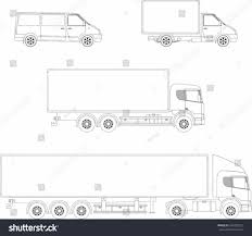 semi truck drawing outline marycath info