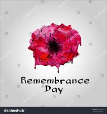 remembrance day poppy icon remembrance day stock vector 622651886