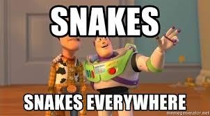 Toy Story Everywhere Meme - snakes snakes everywhere toy story everywhere meme meme generator