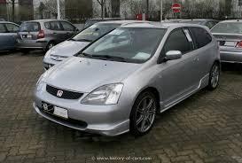2001 honda civic type r honda 2001 civic type r 2door hatchback the history of cars