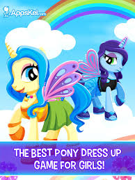 little princess pony descendants u2013 pets dress up games for girls