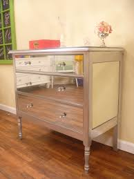 How To Repaint Wood Furniture by Diy Mirrored Dresser The Tamara Blog