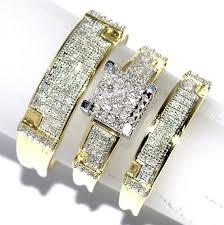 gold wedding sets yellow gold wedding ring sets for women swirl diamond wedding ring