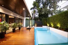 Backyard Tile Ideas Pool Tile Ideas Pool Contemporary With Landscape Lighting Blue Tile