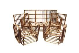Vintage Bamboo Chairs Vintage Rattan Outdoor Furniture