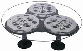 home movie theater decor triple film reel coffee table home theater decor ebay